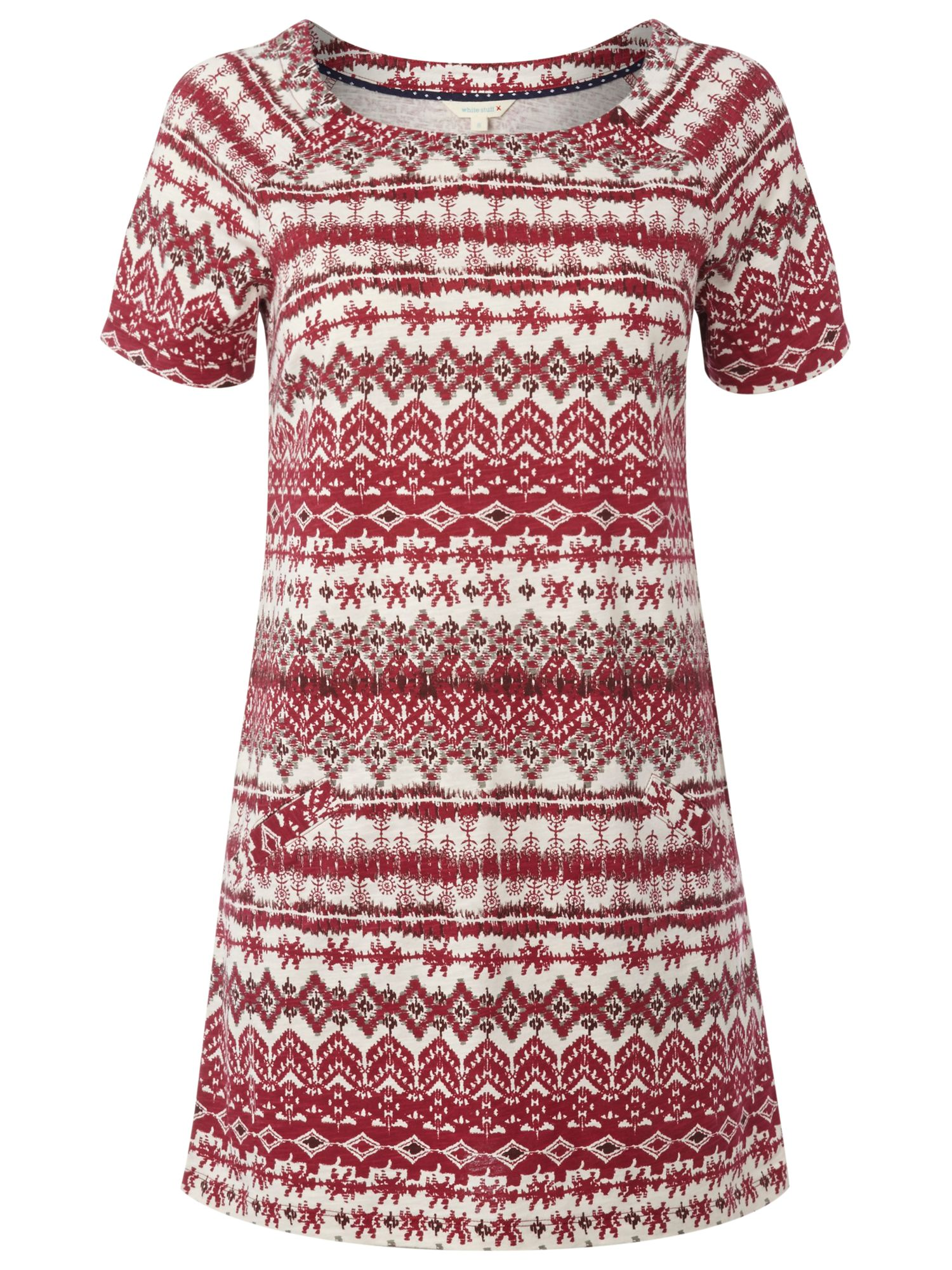 white stuff woodblock tunic coral red, white, stuff, woodblock, tunic, coral, red, white stuff, 14|18|10|16|12|8, women, womens dresses, brands l-z, 1925766