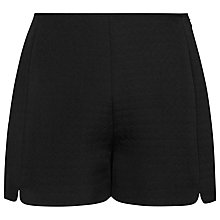 Buy Reiss Quilted Jersey Shorts, Black Online at johnlewis.com