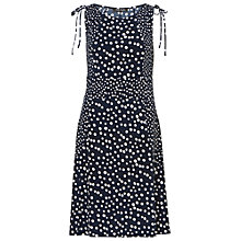 Buy Betty Barclay Spotted Jersey Dress, Dark Blue / White Online at johnlewis.com