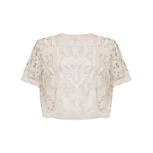 Buy Ariella Clara Sheer Bolero, Dusky Pink Online at johnlewis.com