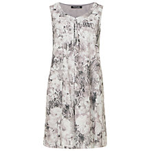 Buy Betty Barclay Printed Smock Dress, Grey Online at johnlewis.com