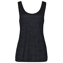 Buy Reiss Lace Vest Top, Night Navy Online at johnlewis.com