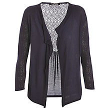 Buy Betty Barclay Lace Knit Cardigan, Night Sky Online at johnlewis.com
