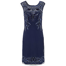 Buy Ariella Betsy Short Sequin Dress, Navy Online at johnlewis.com