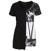 Buy Betty Barclay Print Tunic Top, Black/White Online at johnlewis.com