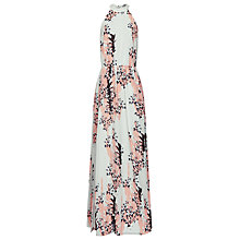 Buy Reiss Arleta Halter Tie Beach Dress, Coral Online at johnlewis.com