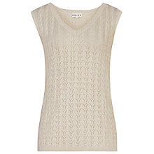 Buy Reiss Knit Tank Top, Grace Online at johnlewis.com