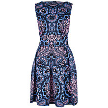 Buy Closet Retro Cut Out Back Dress, Multi Online at johnlewis.com