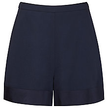 Buy Reiss Satin Border Shorts, Night Navy Online at johnlewis.com