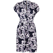Buy Closet Rose V-Neck Dress, Navy Online at johnlewis.com