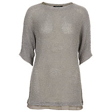 Buy Betty Barclay Loose Knit Jumper, Warm Grey Online at johnlewis.com