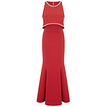 Buy Ariella Naya Crop Top Design Dress, Red Online at johnlewis.com