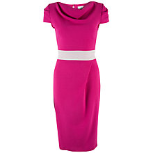 Buy Closet Midi Pencil Dress, Pink Online at johnlewis.com
