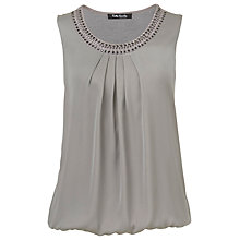 Buy Betty Barclay Studded Sleeveless Top, Warm Grey Online at johnlewis.com
