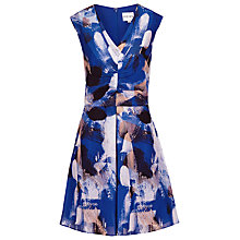 Buy Reiss Nieve Printed Dress, Serpentine Online at johnlewis.com