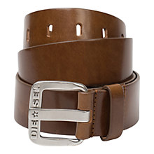 Buy Diesel B Star Leather Belt Online at johnlewis.com