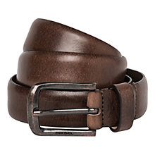 Buy Diesel Bimitia Leather Belt Online at johnlewis.com