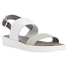 Buy Dune Loren Double Strap Sandals Online at johnlewis.com