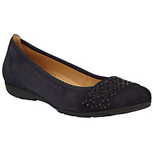 Buy Gabor Active Suede Studded Pumps Online at johnlewis.com