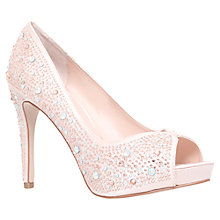 Buy Carvela Grecian Peep Toe Court Shoes Online at johnlewis.com