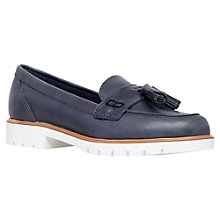 Buy KG by Kurt Geiger Kola Cleated Sole Moccasins Online at johnlewis.com