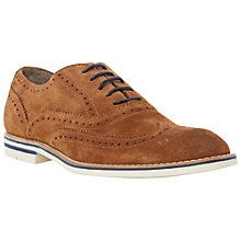 Buy Dune Beattie Suede Oxford Brogues Online at johnlewis.com