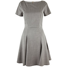 Buy Almari A-Line Panel Dress, Grey Online at johnlewis.com