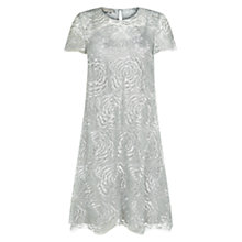 Buy Hobbs Rose Dress, Silver Online at johnlewis.com