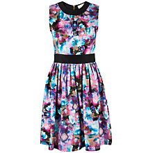 Buy Almari Water Floral Dress, Multi Online at johnlewis.com