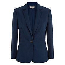 Buy Hobbs Daniella Jacket, French Navy Online at johnlewis.com
