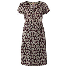 Buy White Stuff Cap Sleeve Spero Dress, Misty Mauve Online at johnlewis.com