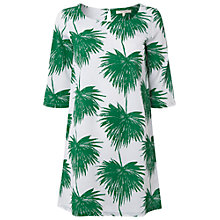 Buy White Stuff Palm Leaf Tunic, White Online at johnlewis.com