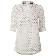 Buy White Stuff Porty Shirt, Coral Red Online at johnlewis.com