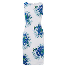 Buy Hobbs Hydrangea Shift Dress, Blue Multi Online at johnlewis.com