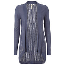 Buy White Stuff Chirp Chirp Cardigan, Night Blue Online at johnlewis.com
