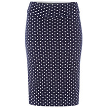 Buy White Stuff Noma Reversible Tube Skirt, Navy Online at johnlewis.com