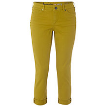 Buy White Stuff Southern Ocean Cropped Jeans, Pineapple Online at johnlewis.com