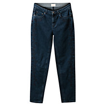 Buy East Embroidered Weekend Jeans, Indigo Online at johnlewis.com