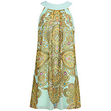 Buy Ted Baker Jewel Paisley Swing Dress, Green Online at johnlewis.com