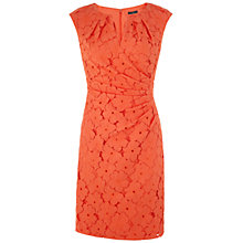 Buy Adrianna Papell Side Pleated Lace Sheath Dress Online at johnlewis.com