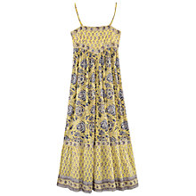 Buy East Arya Maxi Dress, Lemon Online at johnlewis.com