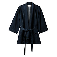 Buy East Waterfall Denim Jacket, Indigo Online at johnlewis.com