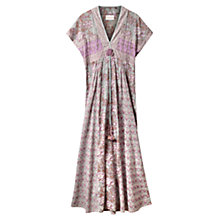 Buy East Gracie Print Maxi Dress, Lavender Online at johnlewis.com
