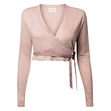 Buy East Wrap Cardigan, Pale Pink Online at johnlewis.com