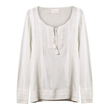 Buy East Lace Detail Jumper Online at johnlewis.com