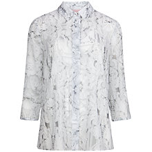 Buy Ted Baker Taffia Print Shirt, White Online at johnlewis.com