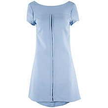 Buy Closet V Back Shift Dress, Dusky Blue Online at johnlewis.com