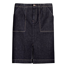 Buy Violeta by Mango Denim Skirt, Dark Navy Online at johnlewis.com