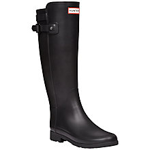 Buy Hunter Original Refined Wellington Boots, Black Online at johnlewis.com