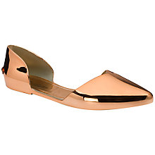 Buy Ted Baker Dawfodyl Flat Cut Away Pumps Online at johnlewis.com